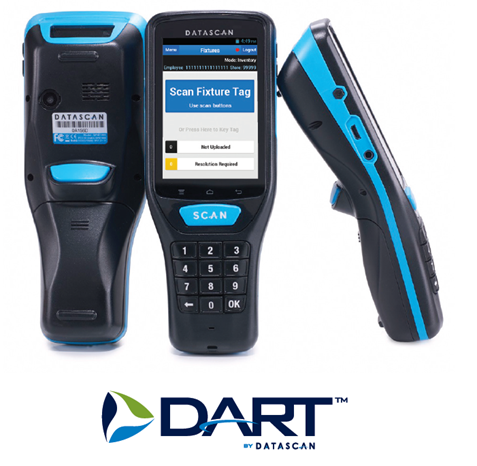 DART scanners with DART logo